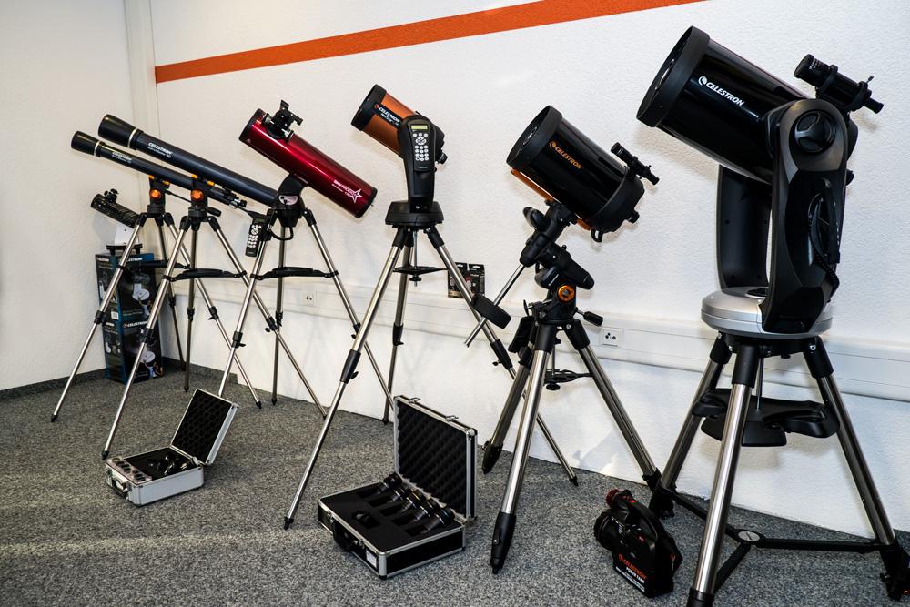 Teleskope fernrohr telescop sternenbeobachtung celestron